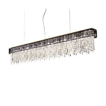 Kolarz PRISMA - Designer Krystall Rett Anheng Lys Polert Gull, 10x G9