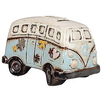 Joe Davies Village Pottery Campervan Keramik Pengar Box Bank