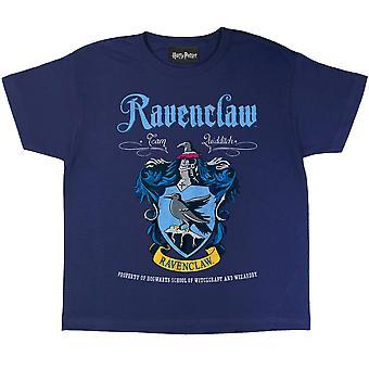 Гарри Поттер Мальчики Ravenclaw Крест футболка