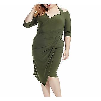 Kiyonna | Foxfire Faux Wrap Dress