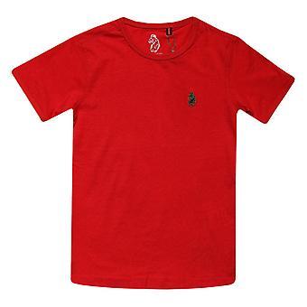 Boy's Luke 1977 Infant Trouser Snake Crew T-Shirt in Red