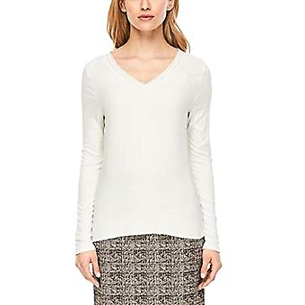 s.Oliver BLACK LABEL 11.912.31.6809 T-Shirt, Ivory (Whipped Cream 0220), 46 (Size Manufacturer: 40) Woman