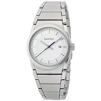 Calvin Klein Herre kvarts Analog ur med rustfrit stål band K6K33146