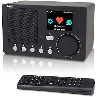 FengChun WiFi Internet Radio WR210N Radio Sintonizzatore con Ricevitore Bluetooth, 29,000 Stazione,