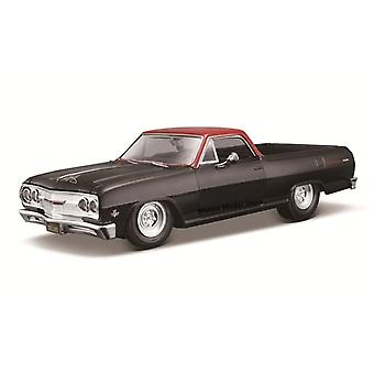 1:24 Muokattu versio Erittäin yksityiskohtainen valettu tarkkuusmalliauto Malli(Musta)