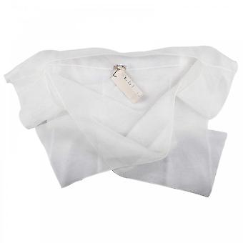 Paola Collection Sheer Silk Over Shoulder Scarf