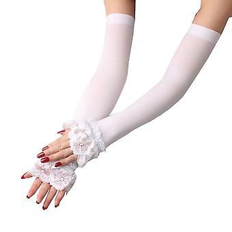 3 barvy Módní letní sluneční ochranné rukávy Dlouhé paže Rukavice
