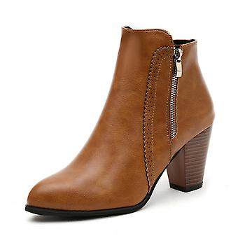 Martens Boots With Thick Soles For Women