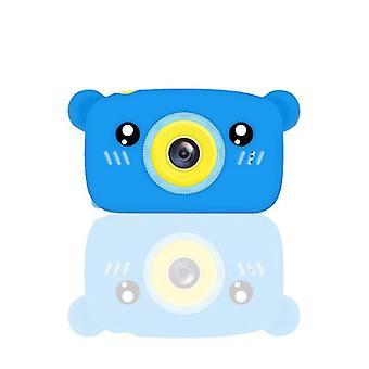 Bear blue portable full-hd 1080p digital mini camera for kids child az959