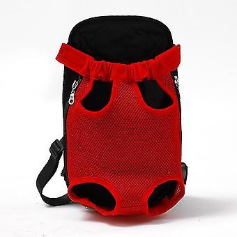 الأحمر ق شبكة الناقل الحيوانات الأليفة backpcs تنفس الكتف التمويه التعامل مع أكياس cai205