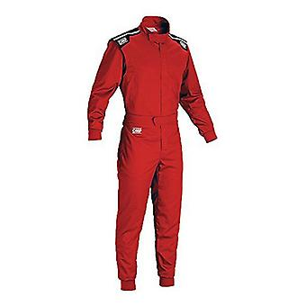 Detské pretekárske jumpsuit OMP Summer-K červená (120 cm)