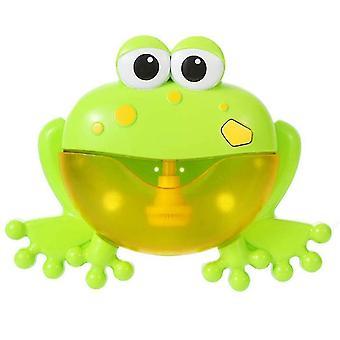 12 Song Muzikale Krab Bubble Maker Baby Kinderen Bad Douche Speelgoed (Groen)