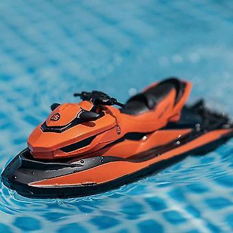RCtown M5 2.4G Mini Remote Control RC Boat (Orange)