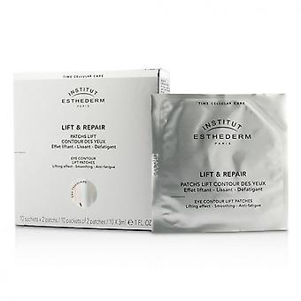 Esthederm Lift And Repair Eye Contour Lift Patches 10x3ml