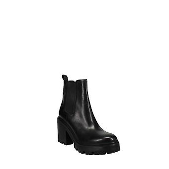 Kendall + Kylie | Jett Round Toe Leather Platform Booties