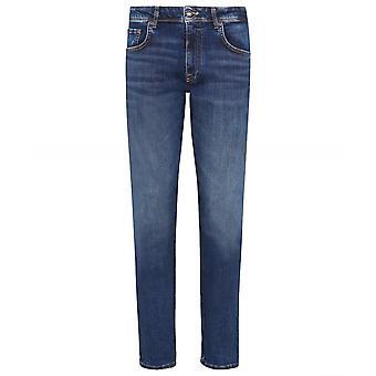 Hackett Slim Fit Wiser Tvätta Powerflex Jeans