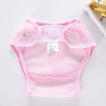 Baby tyg blöjor tvättbar blöja ficka baby träningsbyxor