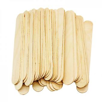 Disposable Hair Removal Shaving Wax Stick Wooden Stick Hair Removal Stick Applicator Spatula