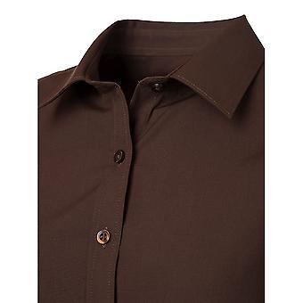 James och Nicholson Mens Långärmad Poplin skjorta
