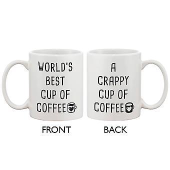 Смешные кофе кружку - лучший чашку кофе, дрянной чашку кофе 11oz кружка Кубок