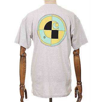Carhartt WIP Test T-shirt - Ash Heather