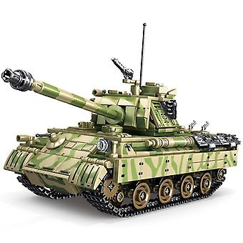 Germany World War 2 II Military Weapon Army Panther Tank Building Blocks  Gift|Blocks