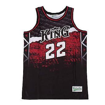 Men's King #22 Leonard High School Basketball Jersey S-2xl