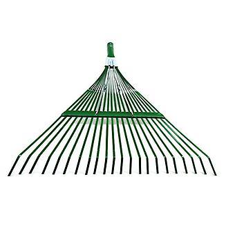 Garden Rake, Adjustable Lightweight Steel Poly Shrub Rake,  22 Tines