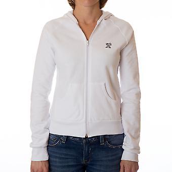 Dethrone Women's Ready Fleece Hoodie - White