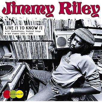 Jimmy Riley - Live It to Know It [Vinyl] USA import