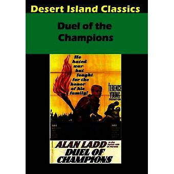 Duel of the Champions [DVD] USA import