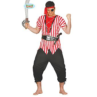 Costume de Pirate pirate Costume pirate mens unique taille