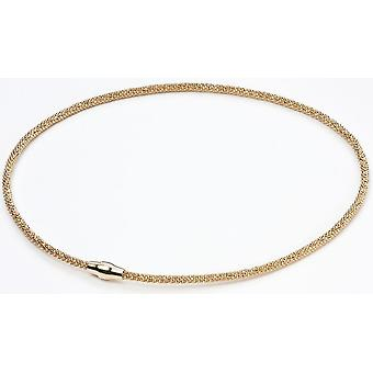 925 Silver Gold Plated Necklace