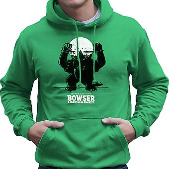 Bowser Unchained Super Mario Bros Men's Hooded Sweatshirt