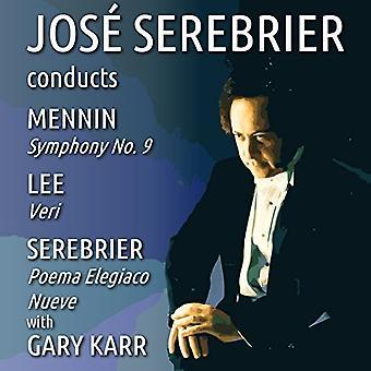 Jose Serebrier Gary Karr (Double Bass) - Jose Serebrier Conducts Mennin-Lee-S [CD] USA import