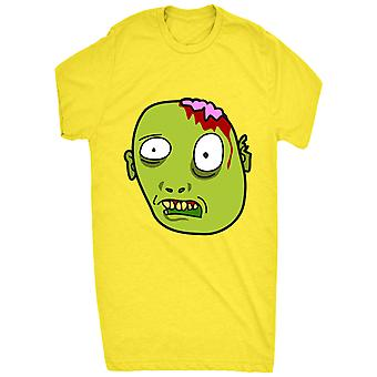 Funny Looking Zombie Head_vectorized For Men