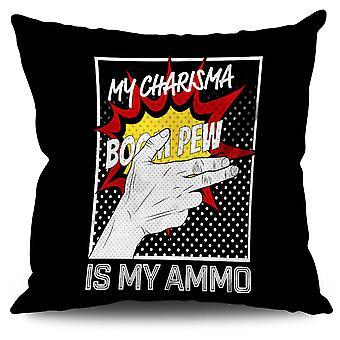 Charisma Comics Fashion Linen Cushion 30cm x 30cm | Wellcoda