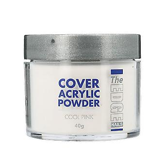 The Edge Nails Cover Acrylic Powder Cool Pink 40g