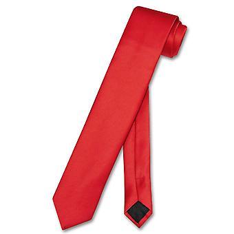 Vesuvio Napoli smal halsduk smal mäns tunna 2,5-tums hals slips