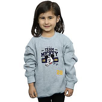 Disney Girls Mickey Mouse Team Mickey Sweatshirt