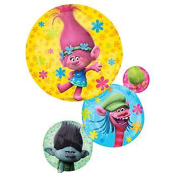 Anagram Trolls Supershape Foil Balloon