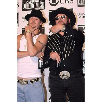 Kid Rock And Hank Williams Jr At The Academy Of Country Music Awards 5222002 La Ca By Robert Hepler Celebrity