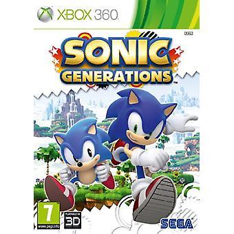 Sonic Generations (Xbox 360) - Nouveau