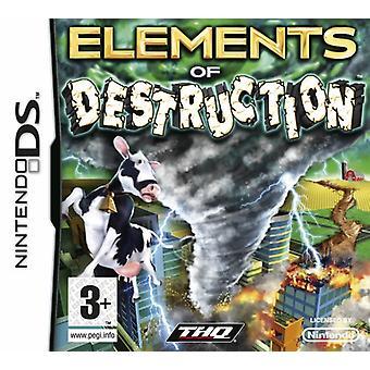 Στοιχεία καταστροφής (Nintendo DS)-νέα