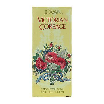 Jovan 'Ramillete victoriano' Spray Colonia 1.5oz/44.4ml en caja