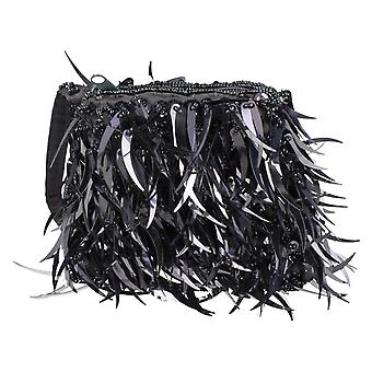 Ladies Spot On Small Purse Bags Fringe