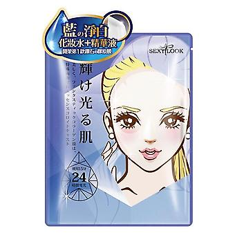 Sexylook éclaircissant Hydrogel Sapphire collagène Mask 3pcs