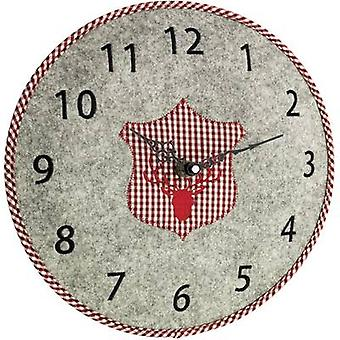 TFA Dostmann 60.3025.10 Quartz Wall clock 330 mm x 40 mm Grey