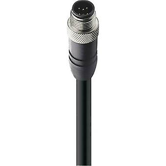 Belden 18314-1 Sensor/actuator data cable (pre-fab) M12 Plug, straight 10.00 m No. of pins (RJ): 5 1 pc(s)