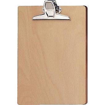 Maul Clipboard 2396070 Wood (W x H) 220 mm x 322 mm